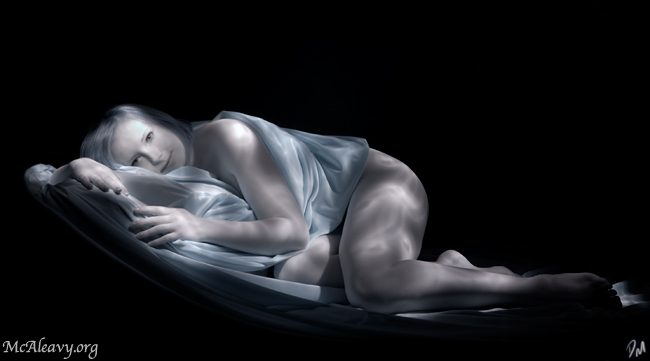 Infrared Light Painting