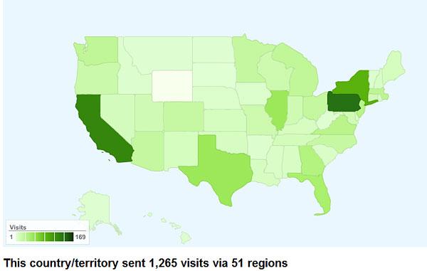 Not very popular in Wyoming?